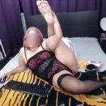 femme mature en lingerie coquine